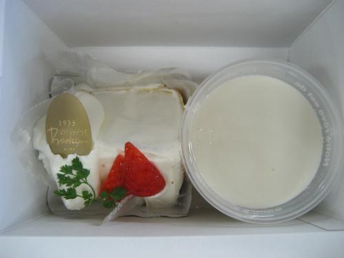 ホワイトデーのお返しはボックサンのケーキとプリン
