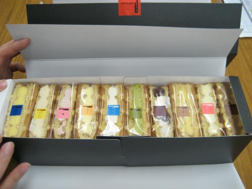 R.L(エール・エル)のワッフルケーキ
