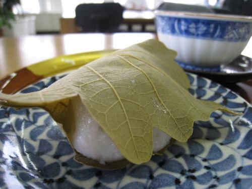 月ヶ瀬の柏餅