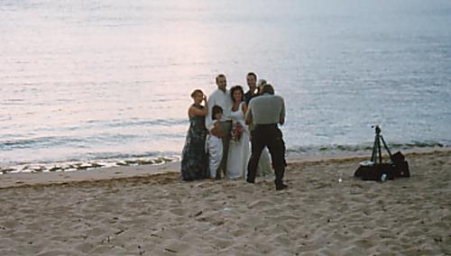 ハワイの結婚式