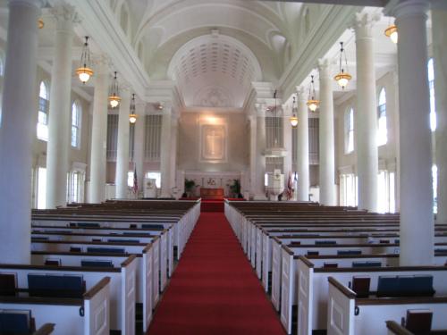セントラル・ユニオン教会大聖堂で結婚式