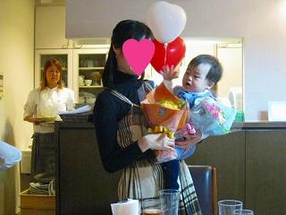 U君 1歳の誕生日会