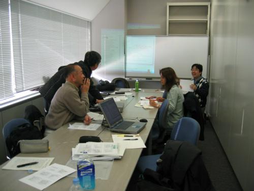 企業組織文化についての研究発表