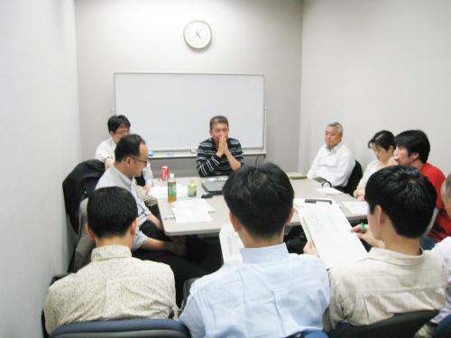 北居明ゼミの修士論文発表会
