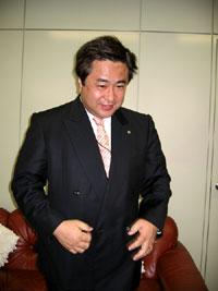 株式会社メニコン 田中社長