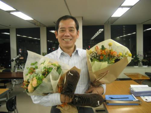 社長の入学祝い