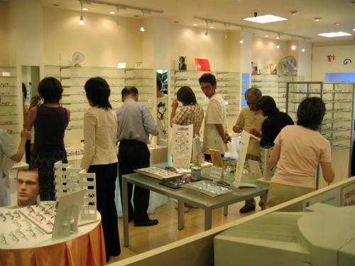 メガネ部門(SPC GLASS)『2005年秋の特別ご招待会』