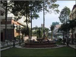 ホーチミン市(サイゴン)中心部