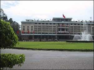旧南ベトナム大統領官邸