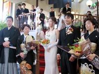 女子従業員Oさんの結婚式