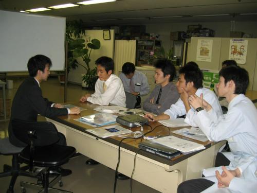 メルス会員へのサービス向上の研修会