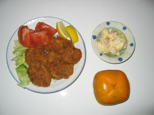 隣の晩御飯