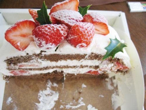 東芦屋ベリーニのケーキ