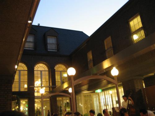 北野ホテルでジャズを聴く夕べ