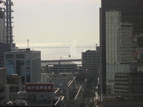 神戸市消防局による「平成19年神戸市消防出初式」が行われました