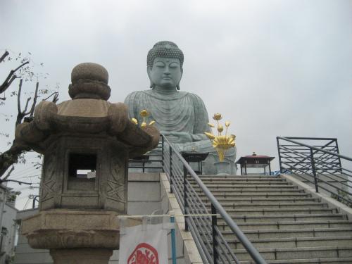 能福寺の「兵庫大仏」