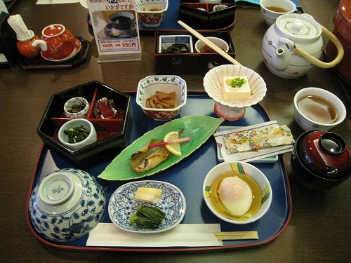 温泉宿 朝ご飯