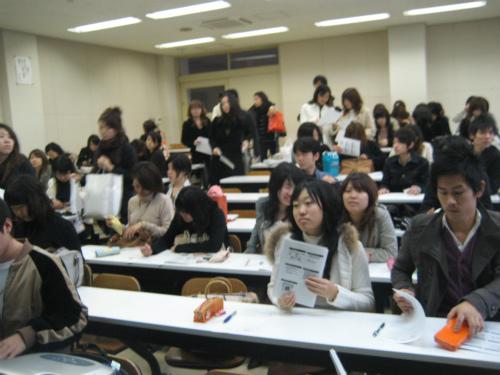神戸市外国語大学での講義