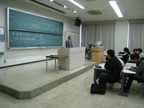追手門学院大学での講義