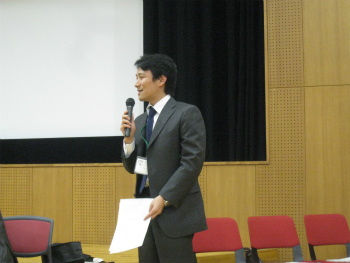 経営行動科学学会での表彰式