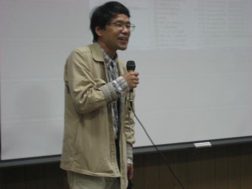 小西ゼミ同門会と応援団の合同総会