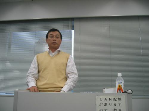 神戸商科大学社会人大学院「MBAの会」大下理事