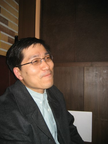 留学生で博士課程後期のチェさん