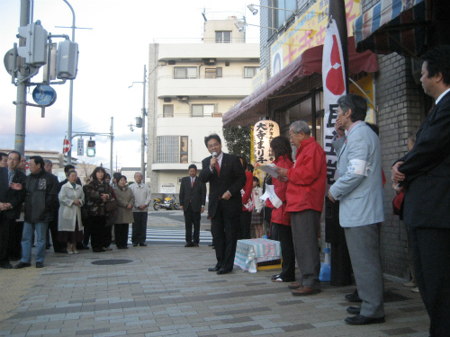 大寺まり子さんの出陣式に行ってきました