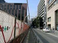 大きなビルの工事