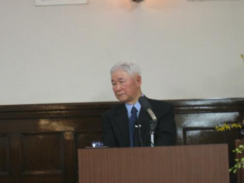 日本銀行福井総裁講演会