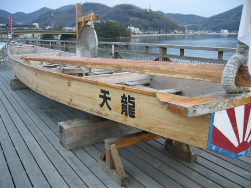 ペーロン祭の船