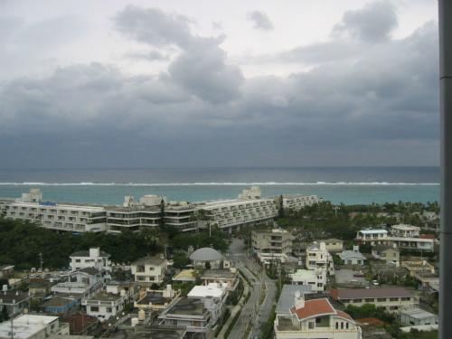 ムーンビーチ沖の海