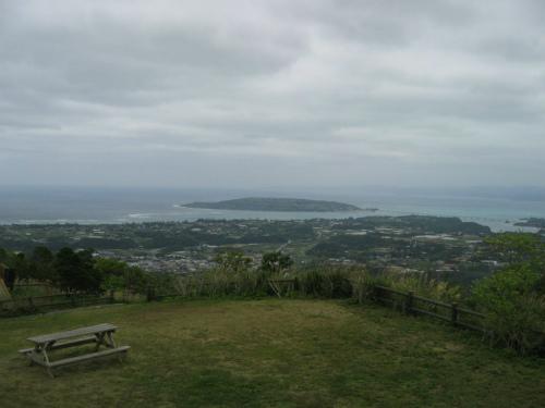 展望台から見える古宇利島