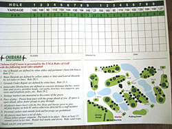 ゴルフ場カード