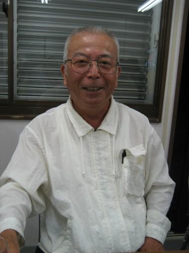 前兼久の老人会の会長