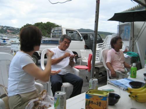 沖縄県恩納村前兼久村