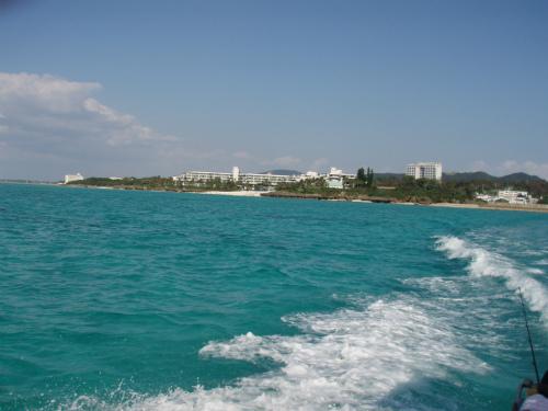 沖縄訪問 シーラ漁へ