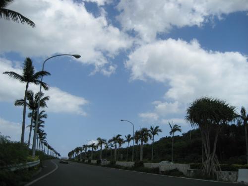 沖縄訪問 ステーキとサンマ