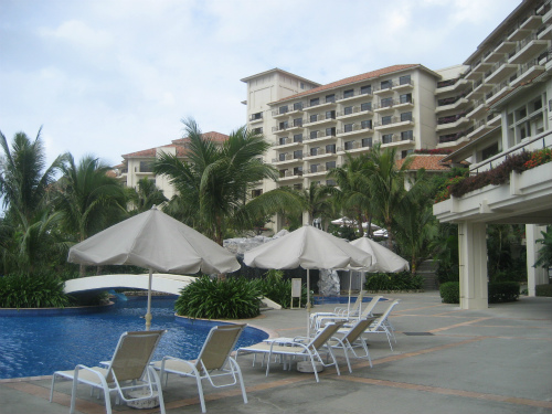 ザ・ブセナテラスホテルのバナナの木