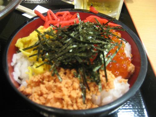 神戸空港での昼食