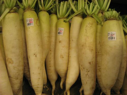 「恩納の駅」の獲れたての野菜