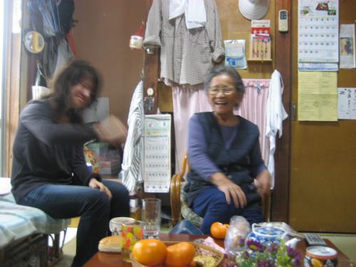 松葉博雄のそっくりさんのお母さん