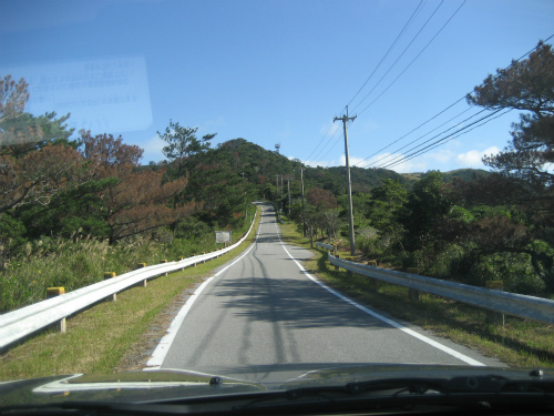 松田光正さんとドライブに出かけます