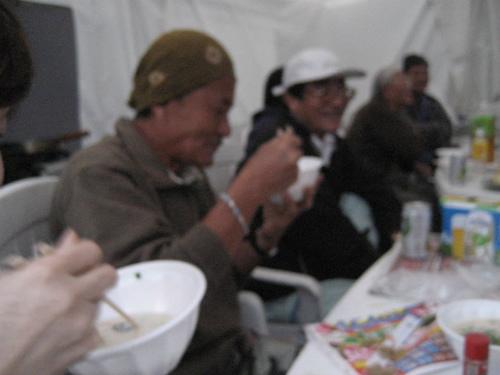神戸風の粕汁は、好評でした