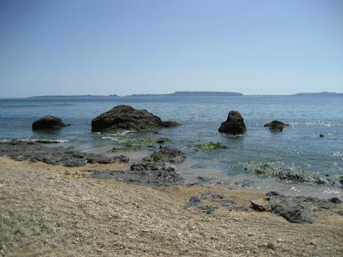 とても綺麗な浜辺です