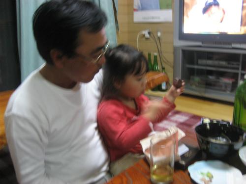 クレアちゃんが松葉博雄になついてきました