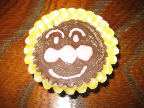アンパンマンのチョコレートを頂きました