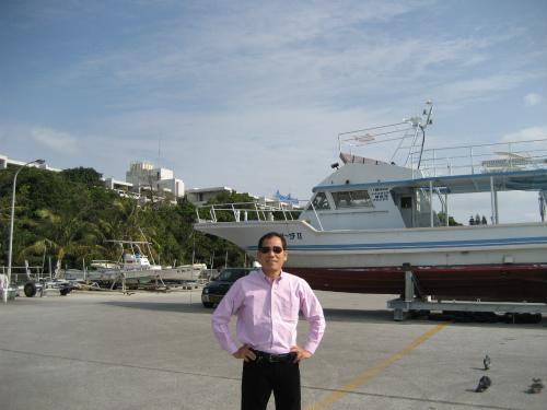 松葉博雄は、今回の沖縄訪問で、第83回です