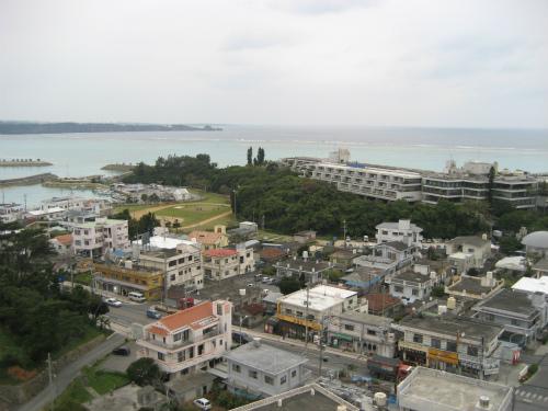 ホテルからムーンビーチ