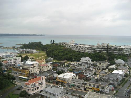 ホテルから東シナ海